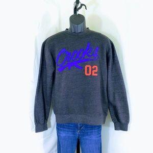 Crooks & Castles Smoking Gun Crewneck Sweatshirt